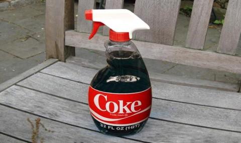 Кока-кола рўзғор юмушларида асқотади