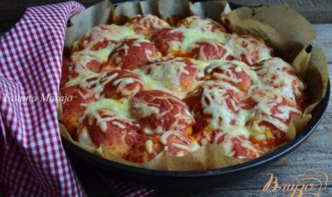 Машҳур ошпазлардан ғаройиб рецепт: тескари пицца