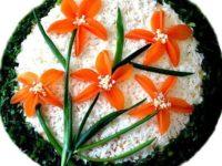 «Баҳорий гуллар» салати – мавсум тафтини ҳис этинг!