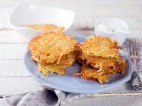 Картошкали драниклар: тез тайёрланадиган кечки овқат рецепти