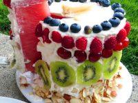Тарвузли торт – муздай десерт…