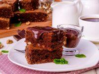 Шоколадли браун — десерт тайёрлашни унутиб қўймадингизми?